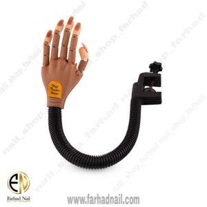 دست مفصلی تمرینی ناخن
